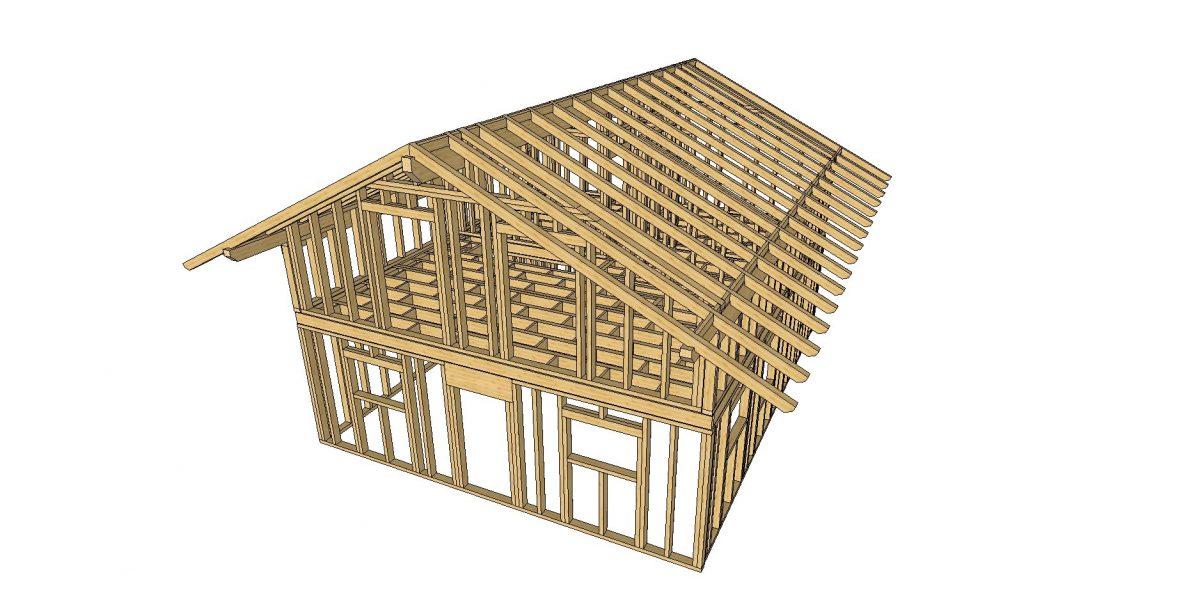 Casa a Telaio in realizzazione