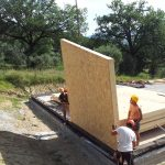 Casa in legno PlatForm Frame Cantalupo in Sabina - 4